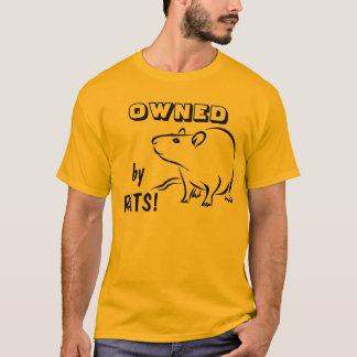 Camiseta POSSUÍDO por ratos!