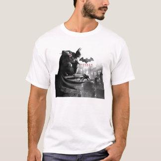 Camiseta Poster da C.A. - borda da gárgula de Batman