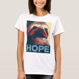 Camiseta Poster da esperança da preguiça