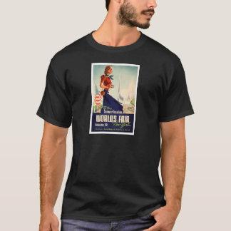 Camiseta Poster da feira de mundo de New York