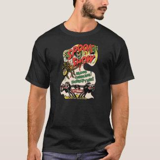 Camiseta Poster da mostra do susto do vintage - fantasma