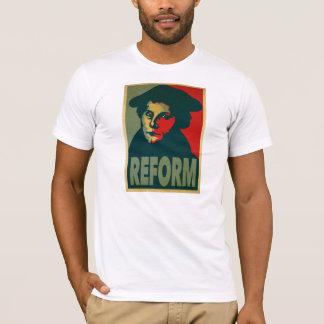 """Camiseta Poster da """"reforma"""" de Martin Luther"""