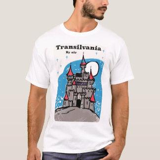 Camiseta Poster das viagens vintage do castelo da