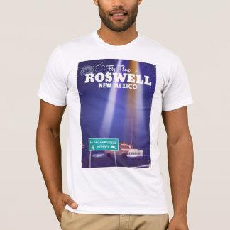 Camiseta Poster de viagens da estrada do Extraterrestrial
