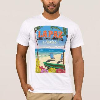 Camiseta Poster de viagens de La Paz Baja California Sur