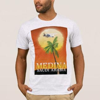 Camiseta Poster de viagens de Medina Arábia Saudita