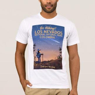 Camiseta Poster de viagens nacional do parque natural do