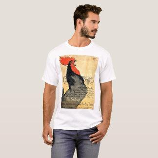 Camiseta Poster do francês do vintage de Cocorico