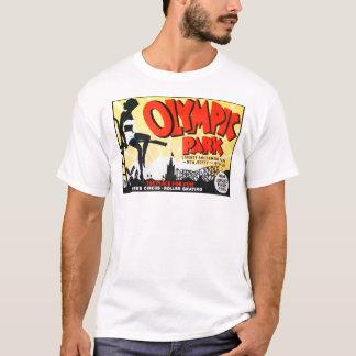 "Camiseta ""Poster do parque olímpico"" do vintage -"