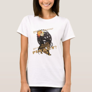 Camiseta Poster do recrutamento do pirata de Steampunk