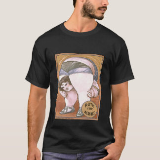 Camiseta Poster impressionante Ruth do circo a acrobata