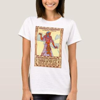 Camiseta Poster restaurado Egipto das viagens vintage de