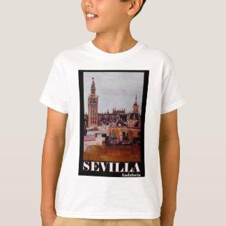 Camiseta Poster retro Sevilha Giralda Andalucia