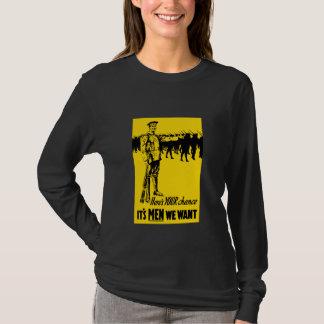 Camiseta Poster WW1 de recrutamento