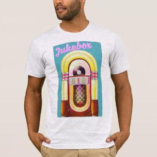 Camiseta Posudo do jukebox do vintage