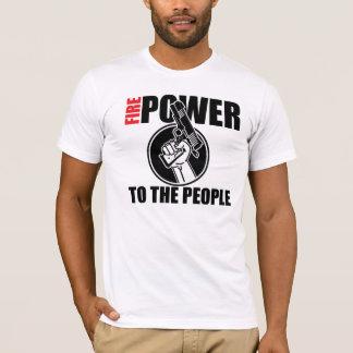 Camiseta Potência de fogo às pessoas 2