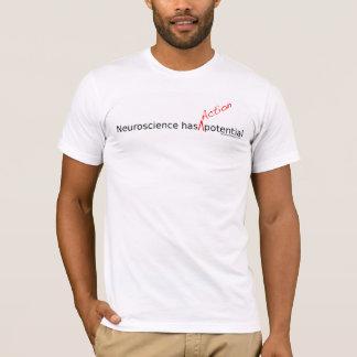 Camiseta Potencial de ação Básico-T