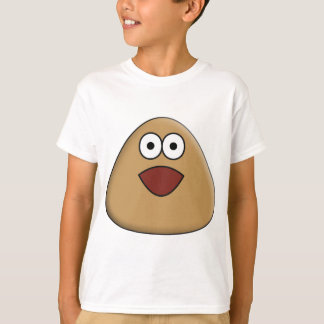 Camiseta Pou Excited