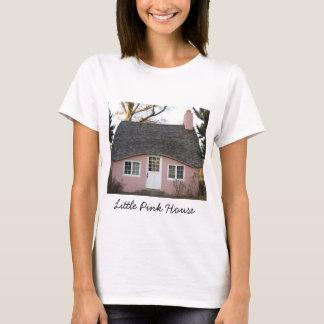 Camiseta Pouca casa cor-de-rosa