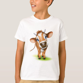 Camiseta Pouca vaca do jérsei
