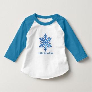 Camiseta Pouco jérsei do floco de neve