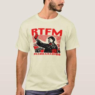 Camiseta Pouco livro vermelho do RTFM Mao