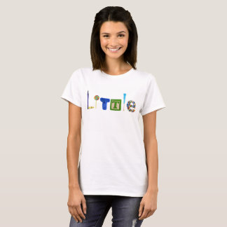 Camiseta Pouco T das mulheres