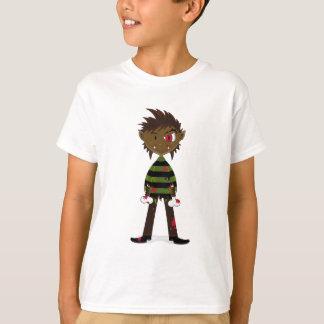 Camiseta Pouco t-shirt do homem-lobo do Dia das Bruxas