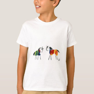 Camiseta Poucos pôneis do arco-íris