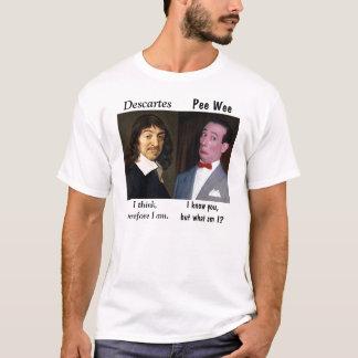 """Camiseta Pouquinho do xixi de Rene """"n"""" na existência"""