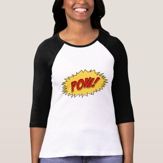 Camiseta Pow comic book sound effect
