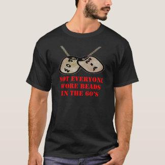 Camiseta POW-MIA não todos vestiu a miçanga nos anos 60