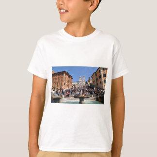 Camiseta Praça di Spagna, Roma, Italia
