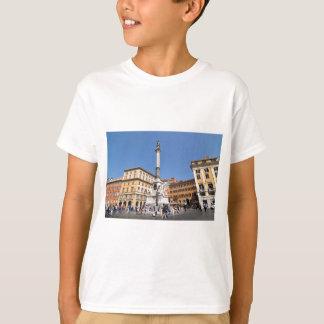 Camiseta Praça Navona em Roma, Italia