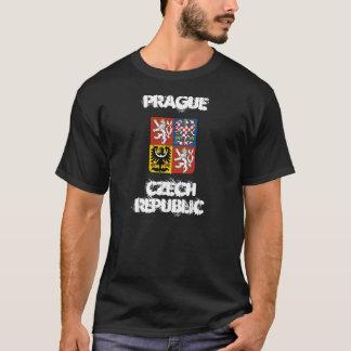Camiseta Praga, república checa com brasão