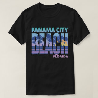 Camiseta Praia da Cidade do Panamá