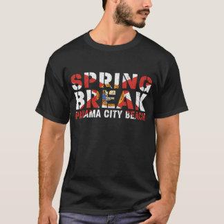 Camiseta Praia da Cidade do Panamá das férias da primavera