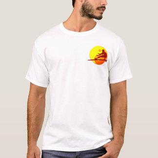 Camiseta Praia de Bondi do surfista do zen (Sunburst)