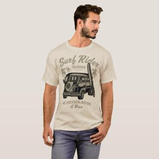 Camiseta Praia de Califórnia do cavaleiro do surf