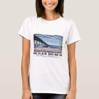 Camiseta Praia do oceano, San Diego, Califórnia