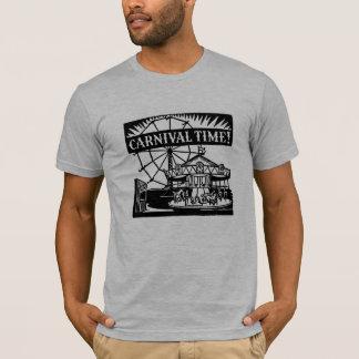 """Camiseta Praia do """"tempo carnaval"""" (preencha a cidade)"""