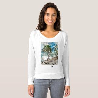 Camiseta Praia no Ambergris Caye Belize