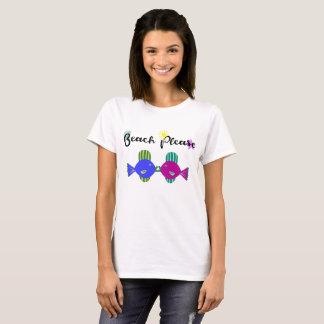 Camiseta Praia por favor