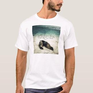 Camiseta Praia romântica Emily Bronte das citações do casal