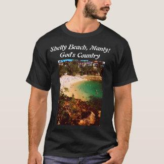 Camiseta Praia Shelly em viril