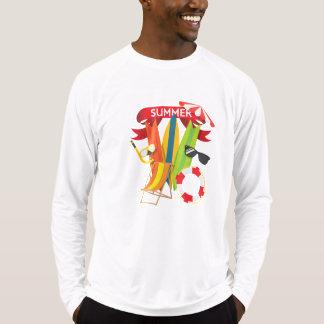 Camiseta Praia Watersports do verão