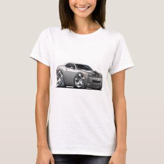 Camiseta Prata do desafiador de Dodge/carro cinzento