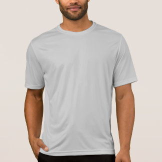 Camiseta Prata do t-shirt do concorrente do Esporte-Tek dos