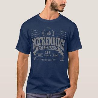Camiseta Prata perfeita do vintage de Breckenridge