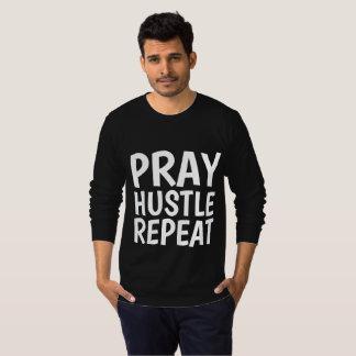 Camiseta PRAY a REPETIÇÃO da CONVICÇÃO, t-shirt cristãos